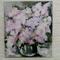 Blumen, Violett, Impressionismus, Rosa