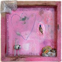 Abstrakt, Bonbon, Box, Pink