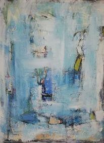 Komposition, Vertikal, Acrylmalerei, Malerei