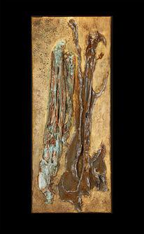 Abstrakt, Erodiert, Malerei