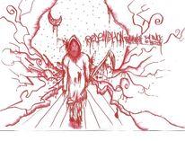 Höhle, Gefühl, Nacht, Blut