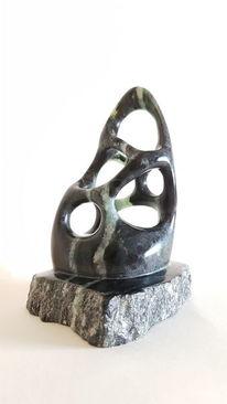 Abstrakt, Skulptur, Speckstein, Plastik