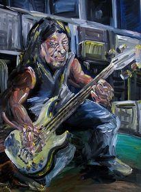 Bassist, Robert trujillo, Malerei
