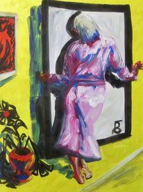 Der spiegel lügt, Malerei, Spiegel