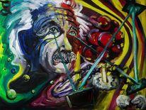 Einstein gut, Malerei, Einstein
