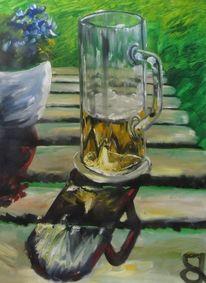 Bier, Malerei,