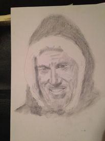 Bleistiftzeichnung, Menschen, Zeichnung, Portrait