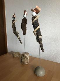 Kupfer, Leder, Holz, Kunsthandwerk