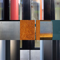 Berlin, Collage, Farben, Glas