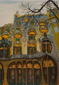 Barcelona, Malerei, Natur