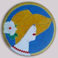 Portrait, Lauer, Malerei, Russisch