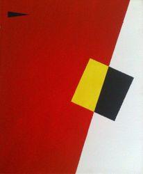 Acrylmalerei, Suprematismus, Malerei, Erscheinung