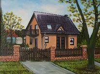 Bei b, In l, Haus von g, Malerei
