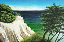 Ostsee, Steilküste, Meer, Himmel
