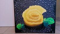 Leinen, Ölmalerei, Visionär, Zitronenschale