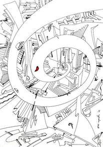 Spirale, Meditation, Zeit, Abstrakt