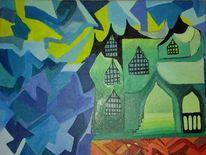 Expressionismus, Malerei, Acrylmalerei, Abstrakt