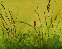 Gras, Wiese, Modern, Braun