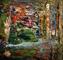 Bund, Acrylmalerei, Abstrakt, Malerei