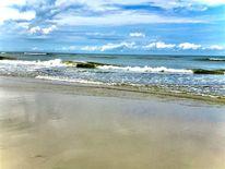Wasser, Himmel, Sand, Fotografie
