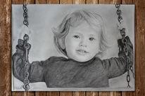 Kind, Menschen, Mädchen, Zeichnungen