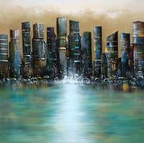 Stadt, Malerei