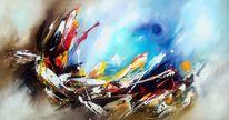 Gemälde, Abstrakt, Moder art, Fantasie
