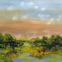 Landschaft, Fantasie, Natur, Modern