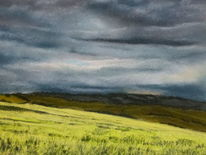 Landschaft, Malerei, Campo