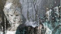 Fotografie, Acrylmalerei, Zeitgenössisch, Abstrakt