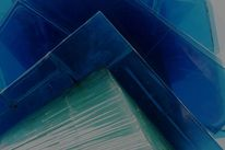 Grün, Glas, Blau, Fotografie