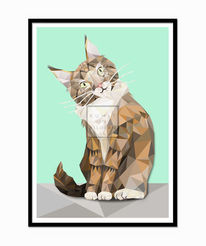 Tiere, Modern, Katze, Digital
