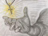 Bleistiftzeichnung, Zeichnung christentum, Zeichnungen