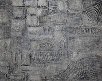 Struktur, Acrylmalerei, Malerei