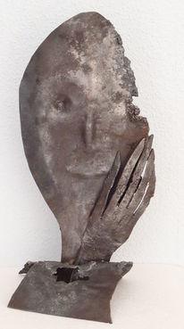 Skulptur, Metall, Plastik,