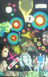 Illustrationen, Collage, Ego