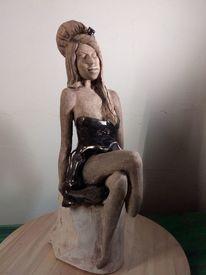 Keramisches, Skulptur, Seele, Portrait