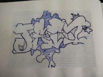 Jart, Graffiti, Mischtechnik