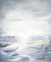 Gelb, Abstrakt, Ozean, Welle