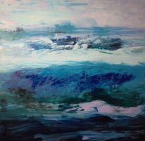 Wasser, Meer, Acrylmalerei, Malerei