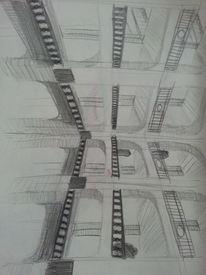 Skizzenbuch, Bleistiftzeichnung, Zeichnungen, Freihand