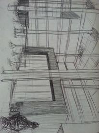 Bleistiftzeichnung, Skizzenbuch, Zeichnungen, Freihand