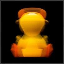 Gravitation, Yello, Orange, Abstrakt