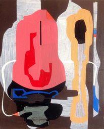 Malerei, Organisch, Abstrakt, Universum