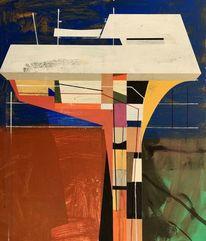 Technik, Futurismus, Acrylmalerei, Avantgarde