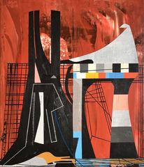 Avantgarde, Futurismus, Zeitgenössisch, Abstrakt