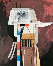 Avantgarde, Acrylmalerei, Metaphysisch, Rätsel