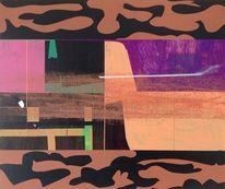 Jim harris, Abstrakt, Landschaft, Wasser