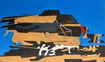 Gemälde, Zeitgenössisch, Abstrakt, Maalaus