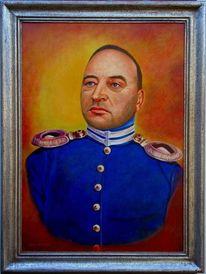 Gemälde, Ölmalerei, Portrait, Malerei